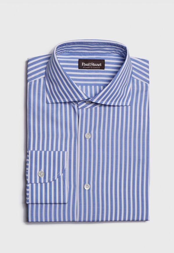 Stuart's Choice Cotton Striped Dress Shirt, image 1