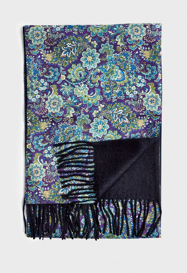Reversible Floral Scarf, image 1