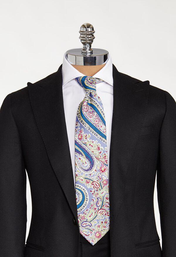 Printed Master Paisley Tie, image 2