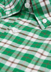 Plaid Flannel Sport Shirt, thumbnail 2