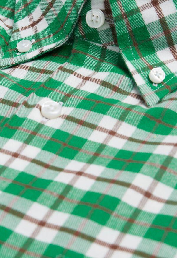 Plaid Flannel Sport Shirt, image 2