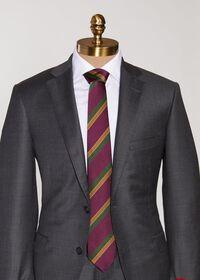 Tricolor Stripe Tie, thumbnail 2