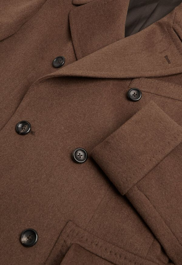 Vicuna Double Breasted Coat with Gauntlet, image 3