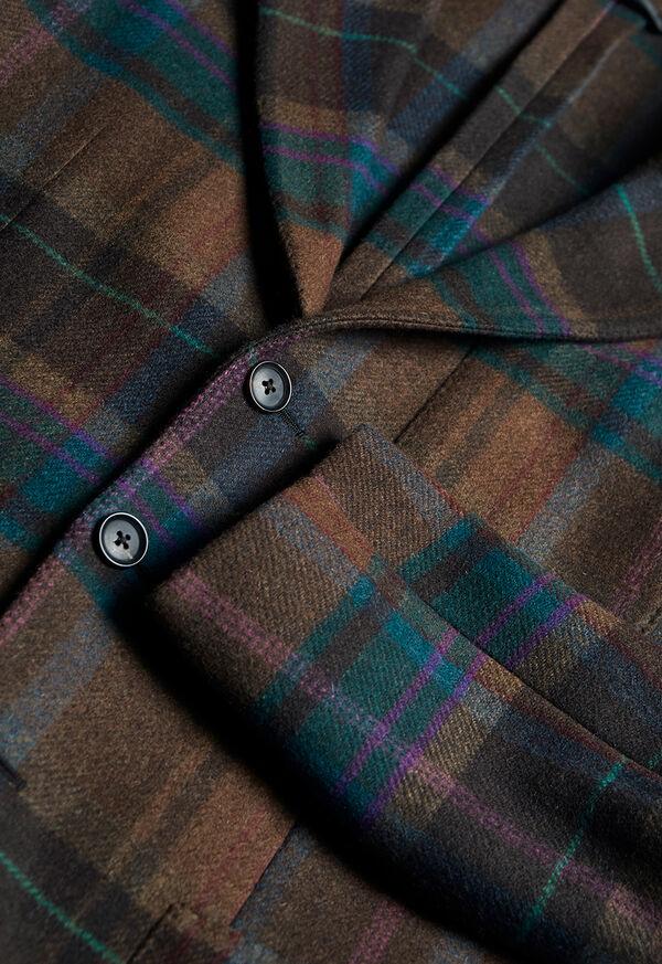 Horseblanket Brown Plaid Sport Coat, image 2