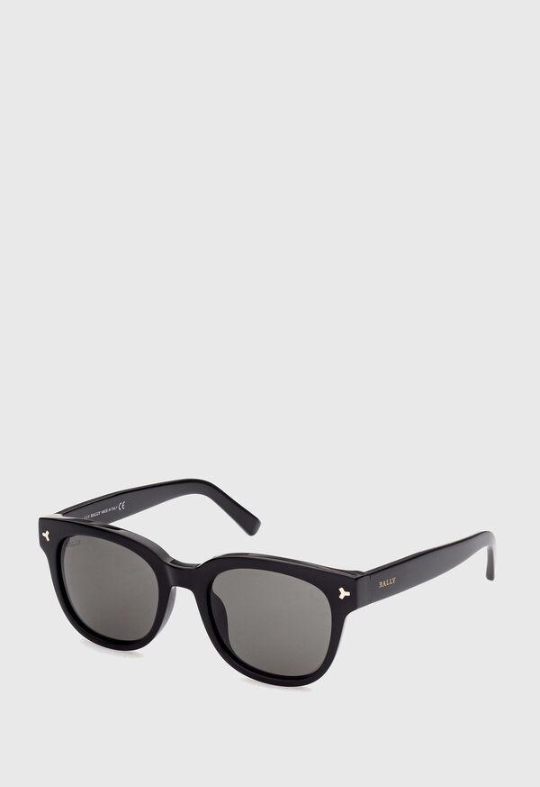 Bally's Black Acetate Sunglasses, image 1
