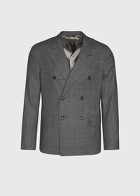 Grey Nailhead Double Breasted Suit, thumbnail 3