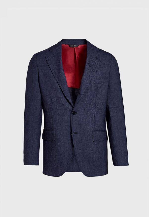 Solid Wool Blazer, image 1