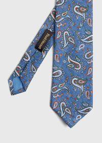Linen Paisley Tie, thumbnail 1