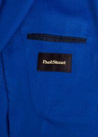 Royal Blue Cashmere Soft Jacket, thumbnail 4