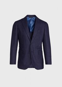 Navy Stripe Suit, thumbnail 3
