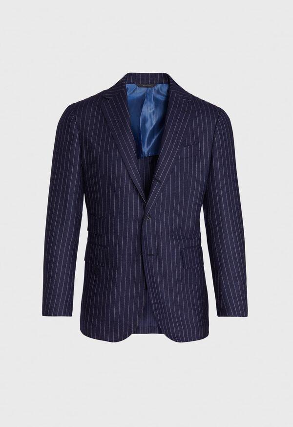 Navy Stripe Suit, image 3