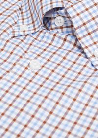 Check Cotton Sport Shirt, thumbnail 2