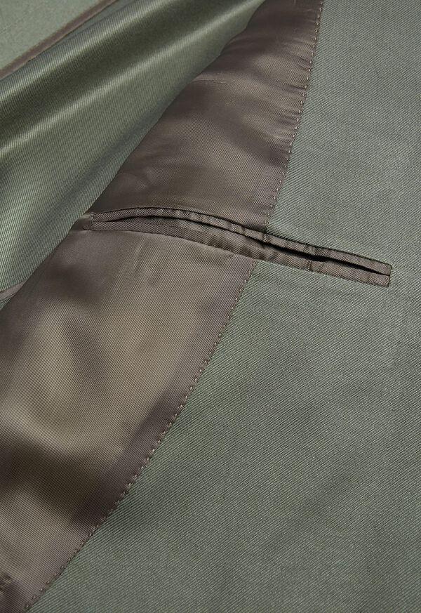 Paul Fit Solid Silk Sport Jacket, image 3