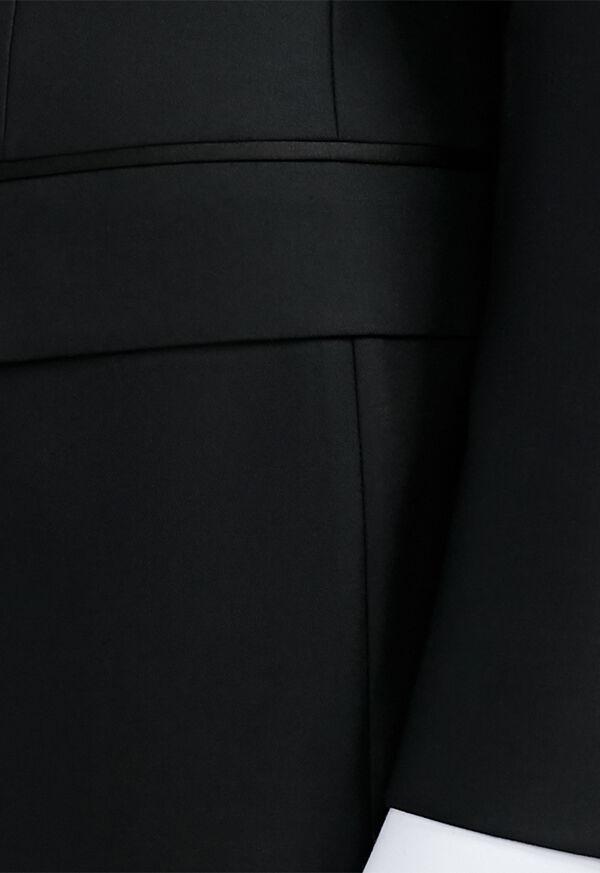 Black Italian Wool Tuxedo, image 4