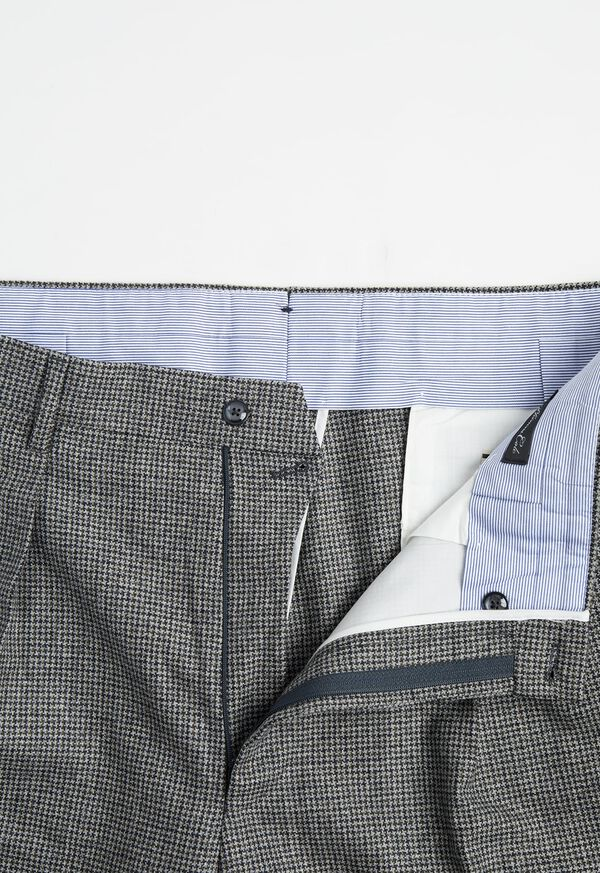 Phineas Cole Houndstooth Wide Leg Pant, image 2