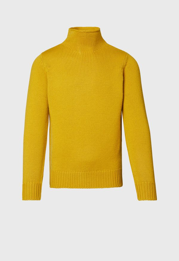 Solid Color Mock Neck Sweater, image 1