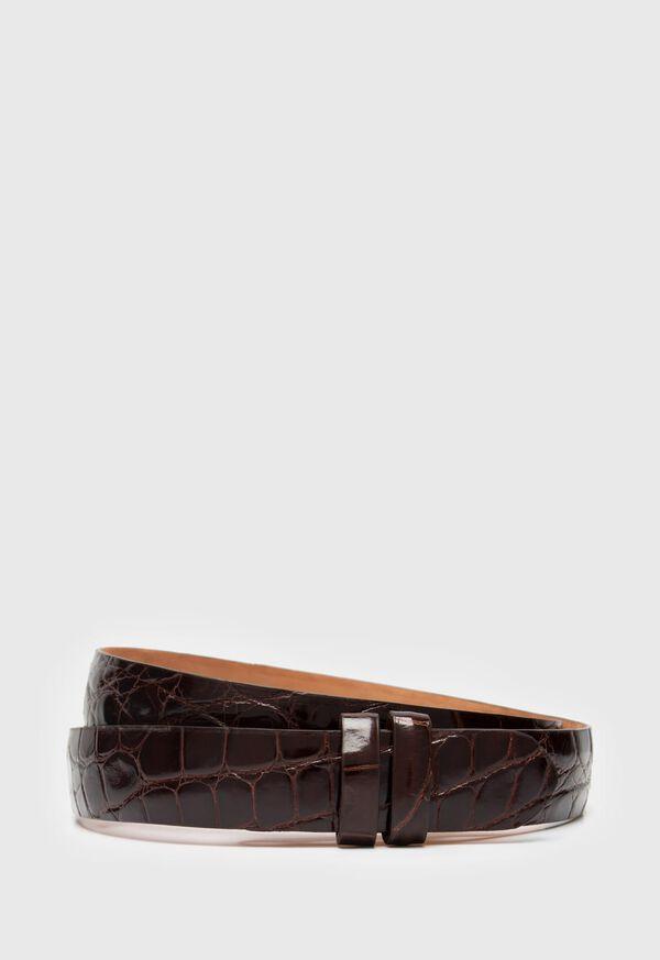 Alligator Slide Strap Belt, image 1