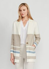 Wool One Button Coat, thumbnail 1