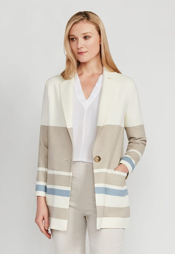 Wool One Button Coat, image 1