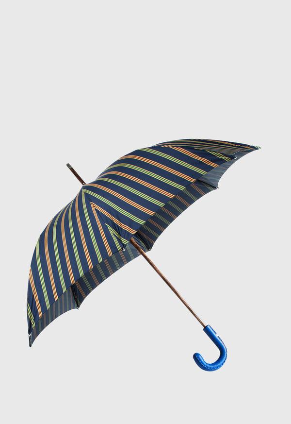 Tri Color Regimental Stripe Umbrella, image 1