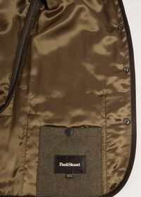 Quilted Loden Barn Jacket with Corduroy Collar, thumbnail 4