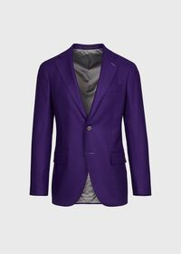 Solid Wool and Cashmere Blend Jacket, thumbnail 1