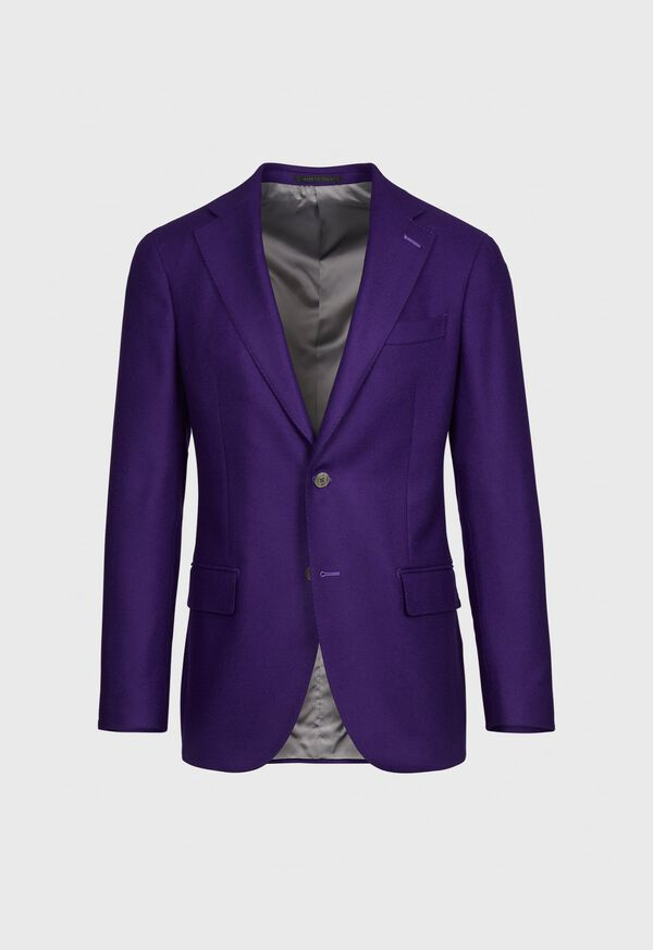 Solid Wool and Cashmere Blend Jacket, image 1