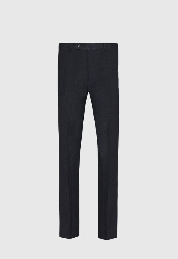 Black Linen Trouser