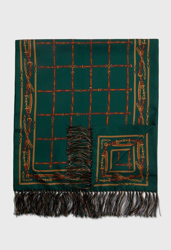 Printed Silk Tubular Scarf