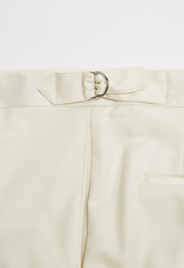 Cream Side Strap Harley Pant, image 3