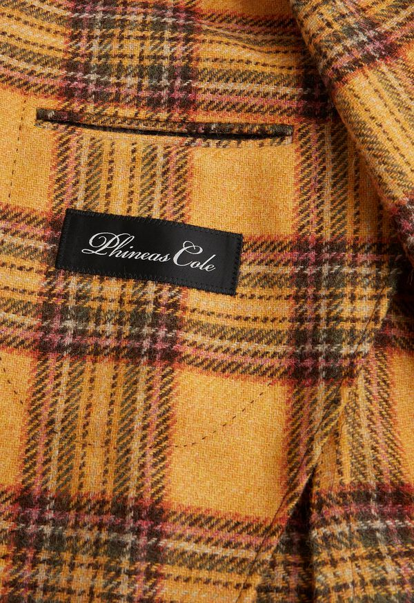 Plaid Soft Jacket, image 3