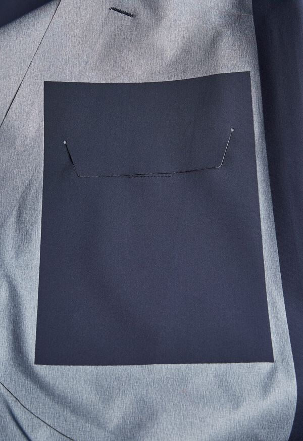 Navy Hooded Waterproof Jacket, image 5