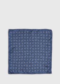 Medallion Silk Pocket Square, thumbnail 2