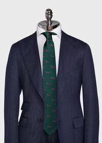 Green Santa Holiday Tie, thumbnail 2
