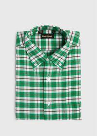 Plaid Flannel Sport Shirt, thumbnail 1