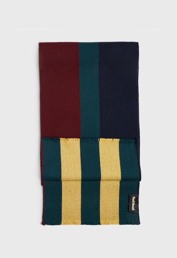 Regimental Stripe Scarf, image 1