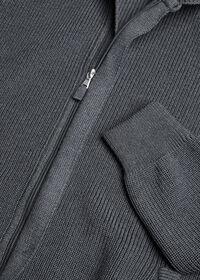 Merino Wool Shawl Collar Cardigan, thumbnail 2