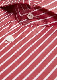 Oxford Wide Stripe Dress Shirt, thumbnail 2