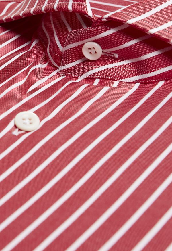 Oxford Wide Stripe Dress Shirt, image 2