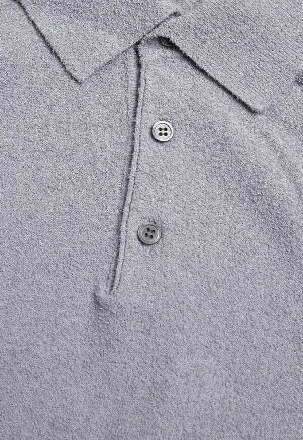 Solid Short Sleeve Polo, image 2