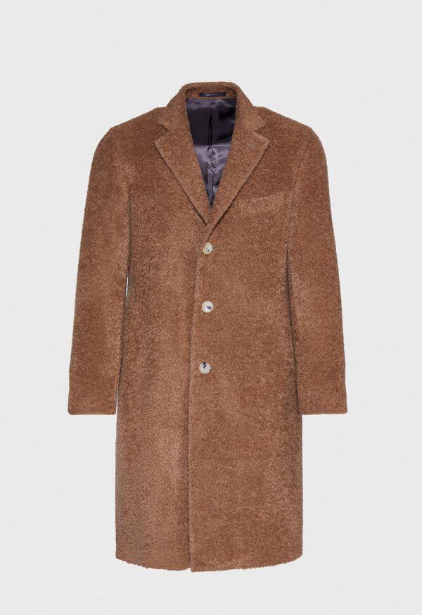 Camel Long Hair Overcoat, image 1