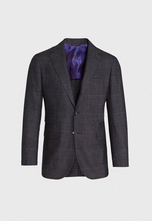 Grey Plaid Suit, image 3