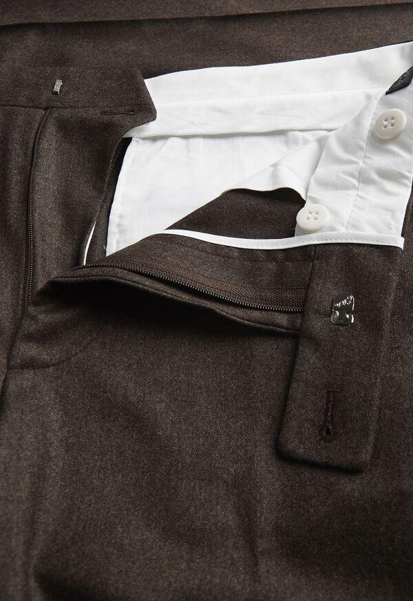 Super 120s Flannel Trouser, image 2