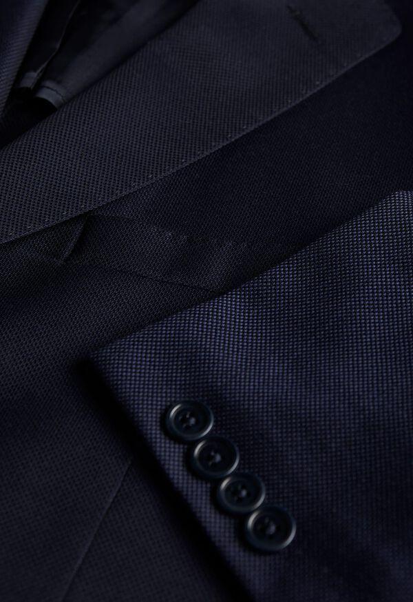 Navy Hopsack Soft Jacket, image 2