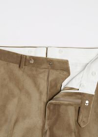 Beige Corduroy Dress Pant, thumbnail 2