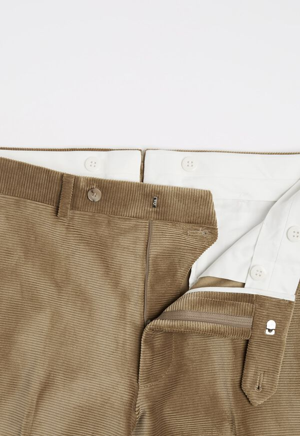 Beige Corduroy Dress Pant, image 2
