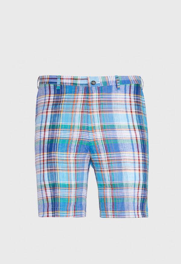 Bright Plaid Walk Shorts, image 1