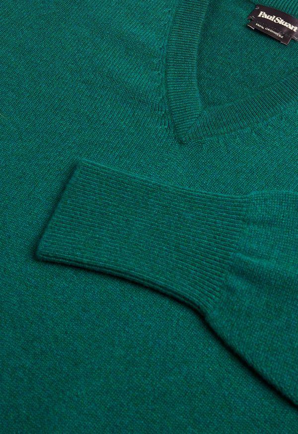 Scottish Cashmere V-Neck Sweater, image 38
