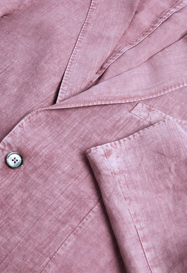 Solid Linen Suit, image 3