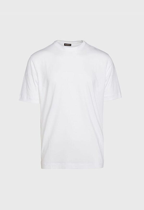 Pima Cotton Crewneck T-Shirt, image 1